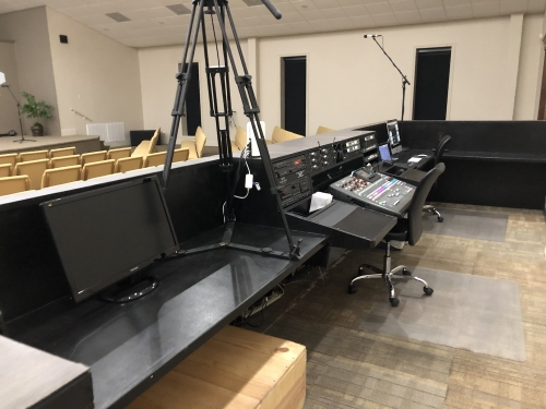 New Sound Booth in Magee